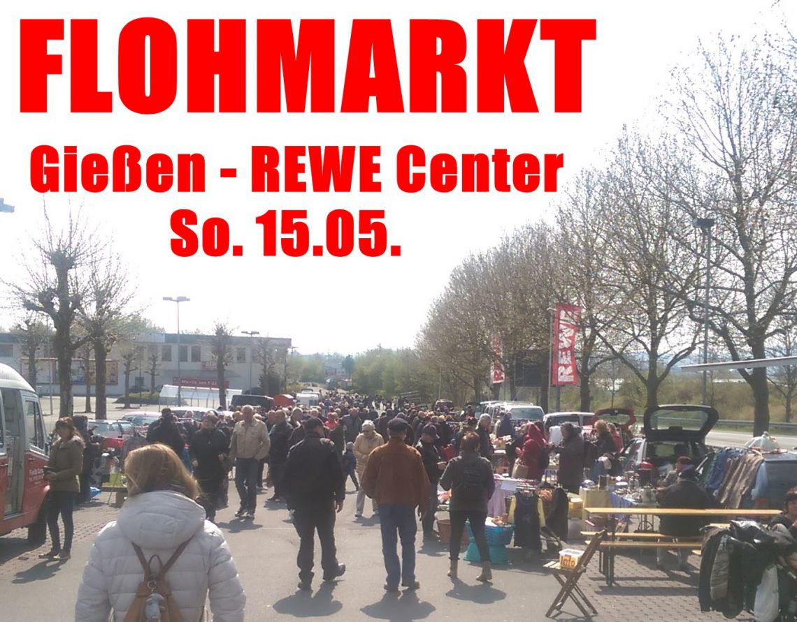 Flohmarkt gie en rewe center 39 s event for Flohmarkt a2 center
